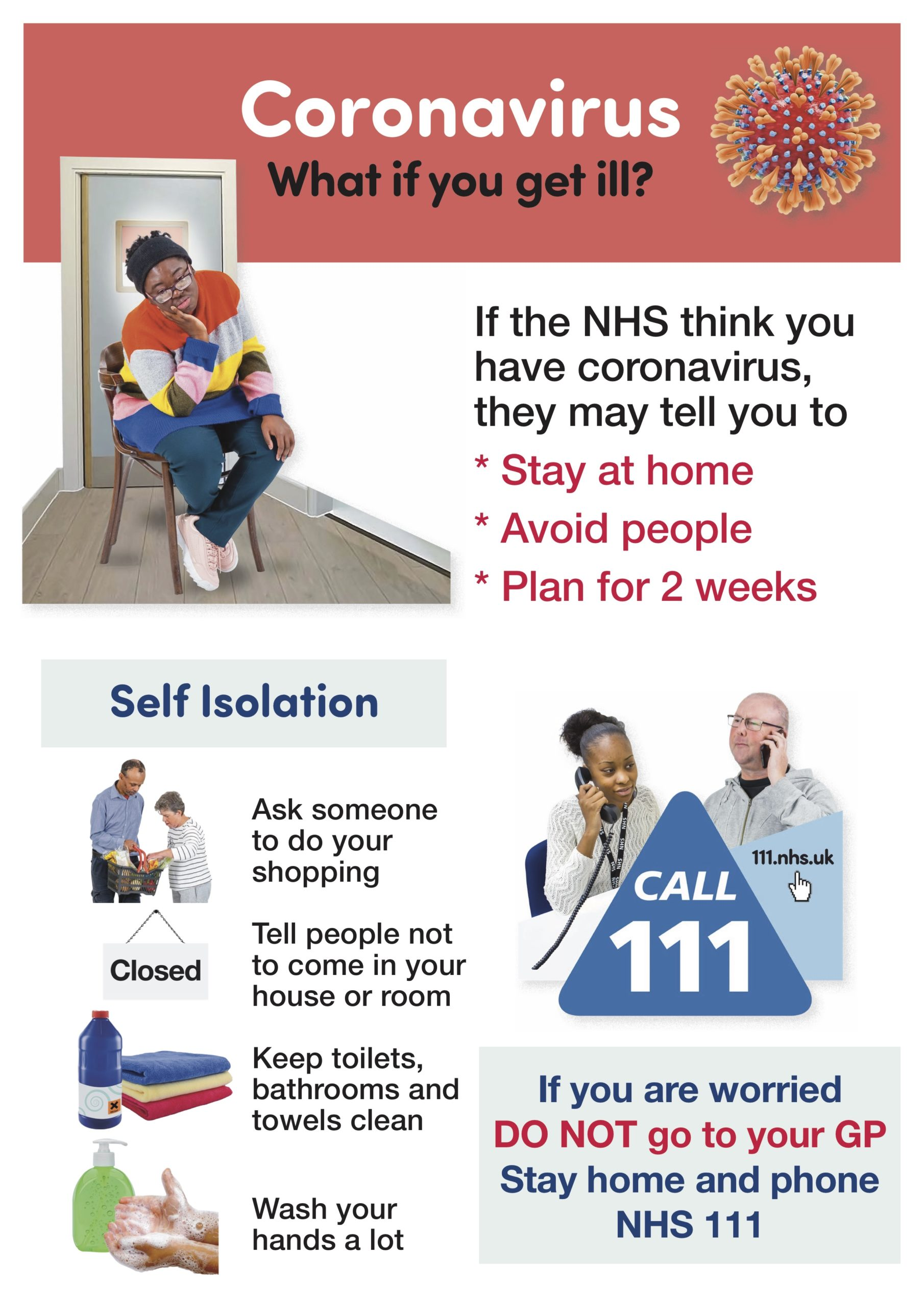 Coronavirus-Poster-what if you get ill- easy read